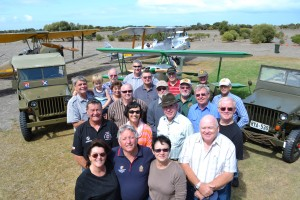 Representatives of various organisations and owners of private old war planes and military vehicles who met at Hindmarsh Island on Sunday, March 24, to map plans to honour our returned service people, including during the Anzac Day march.