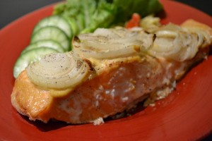 salmon Goolwa meats 002